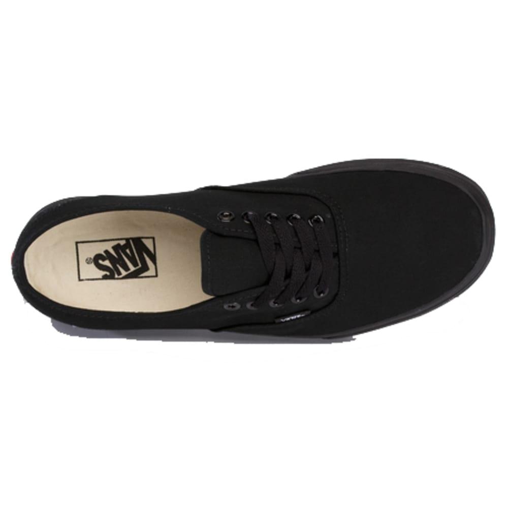VANS Men's Authentic Shoes - BLACK/BLACK-EE3BKA
