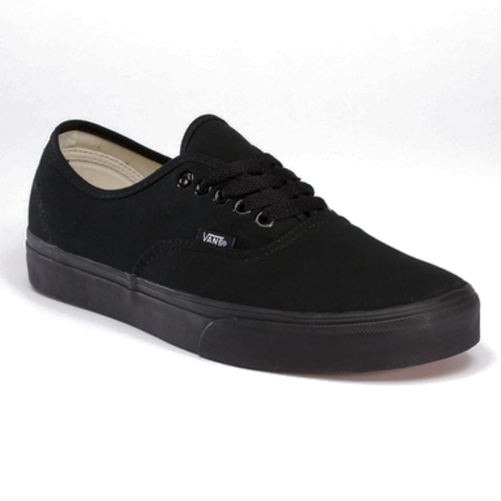 VANS Men's Authentic Shoes - BLACK/BLACK-EE3BKA