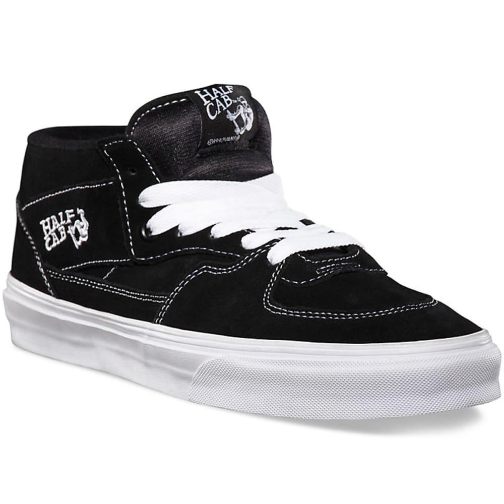 VANS Men's Half Cab Shoes - BLACK