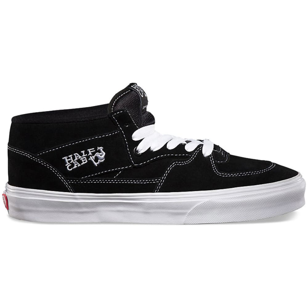 VANS Men's Half Cab Shoes - BLACK