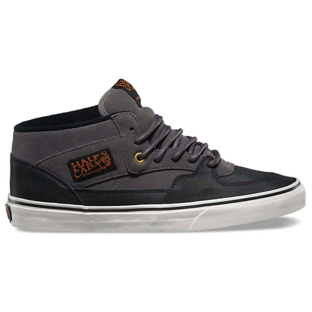 VANS Men's Half Cab Pro Shoes - BLACK/CHINCHILLA