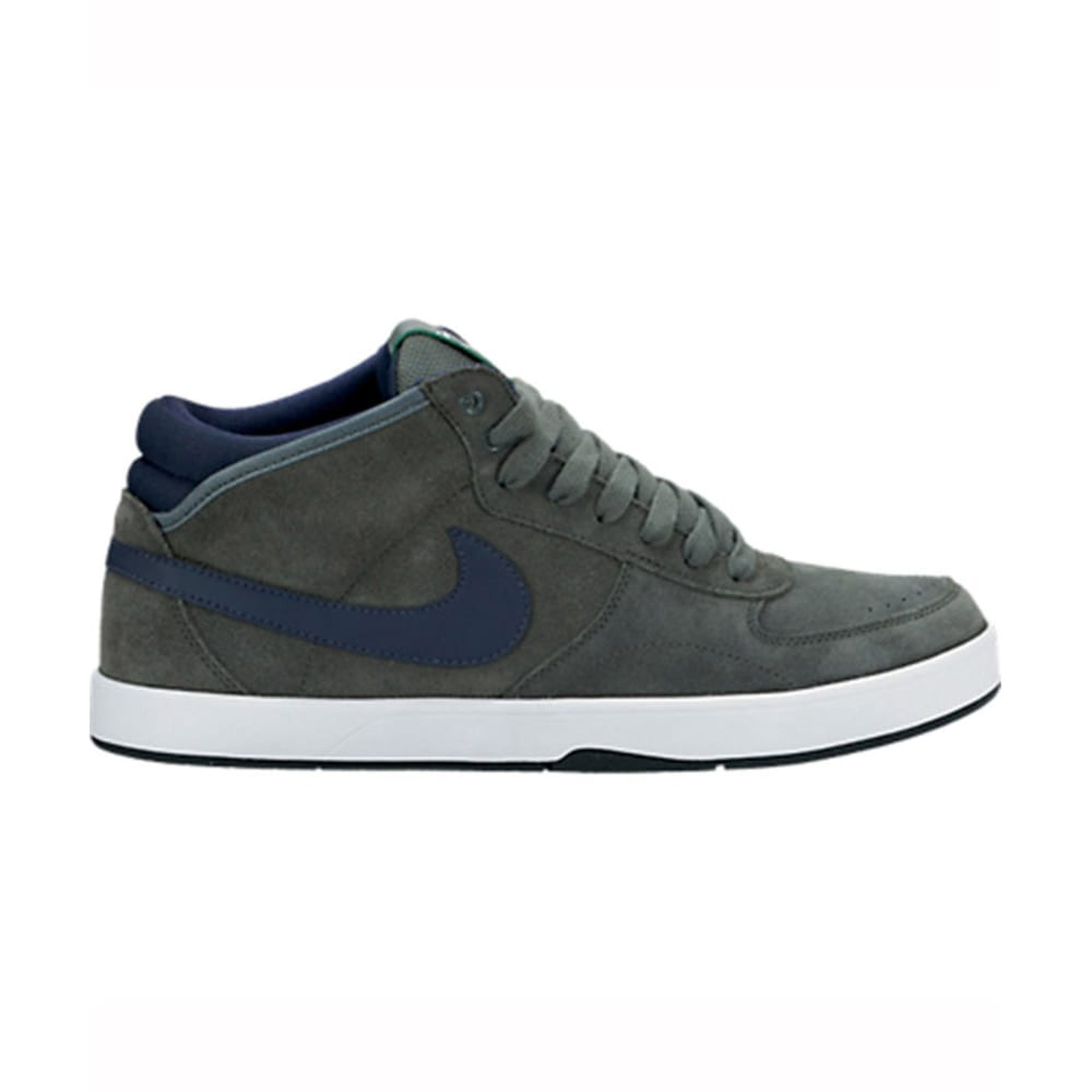 NIKE SB Young Men's Mavrk Mid 3 Shoes - GREEN/NAVY/WHITE