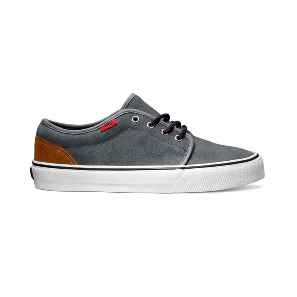 VANS Young Men's Hiker 106 Vulcanized Shoes - STEEL GREY