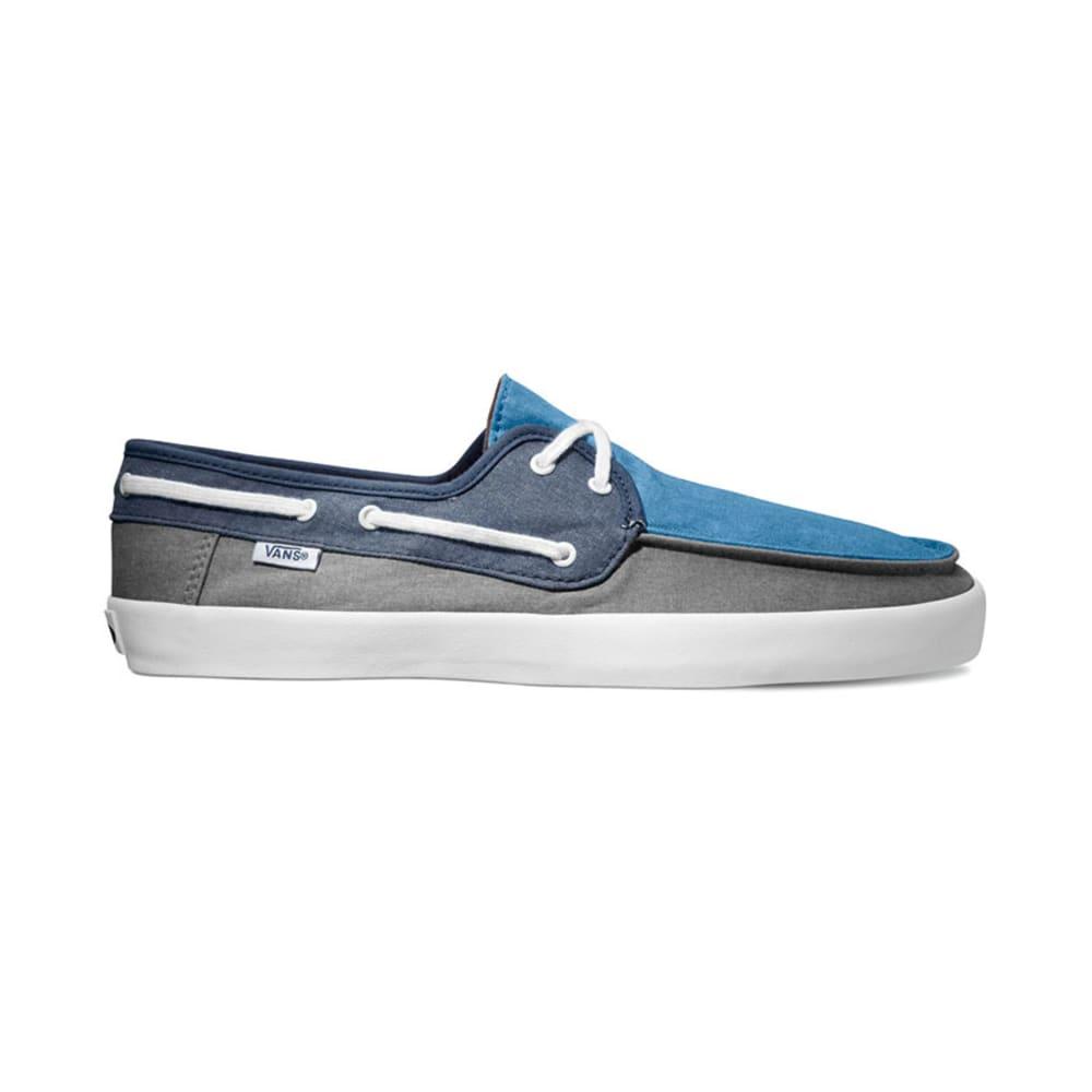 VANS Young Men's Chaffeur Shoes - BLUE/NAVY