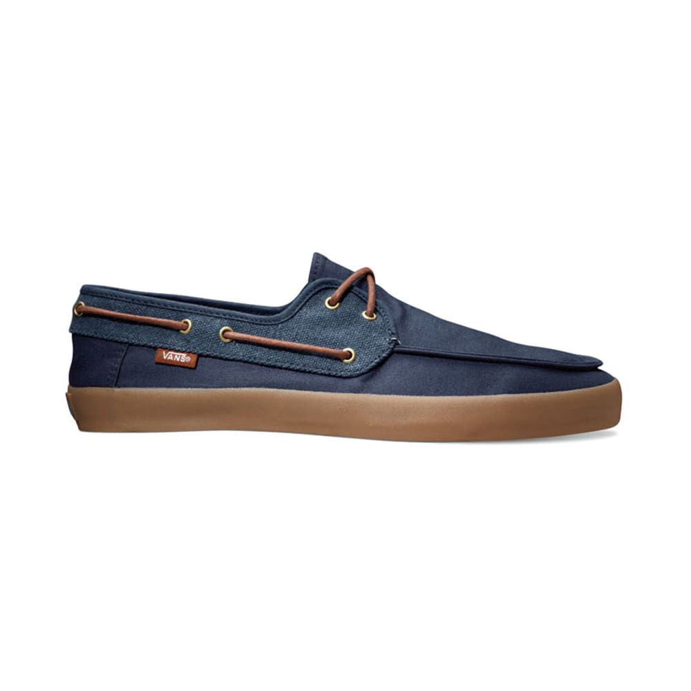 VANS Young Men's Chaffeur Shoes - DRESS BLUE