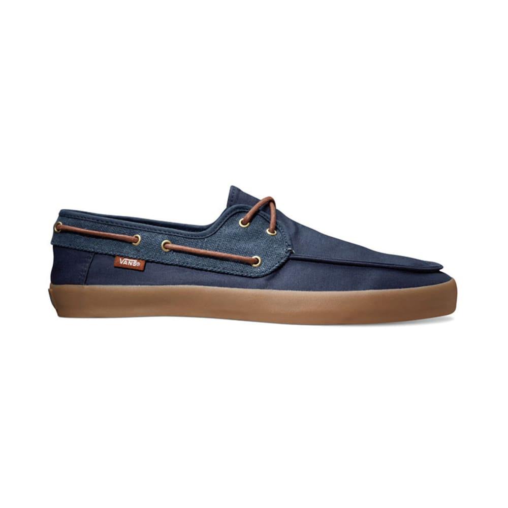 VANS Young Men's Chaffeur Shoes - DRESS BLUE