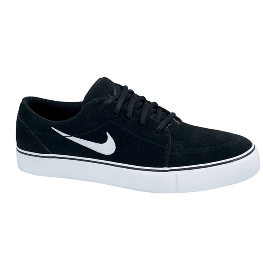 NIKE SB Guys' Satire Shoes - BLACK/WHITE