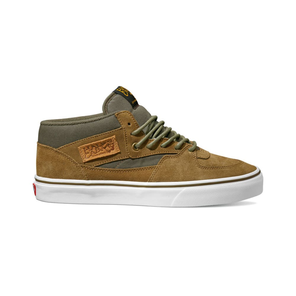 VANS Men's Half Cab Shoes - BUTTERNUT/OLIVE