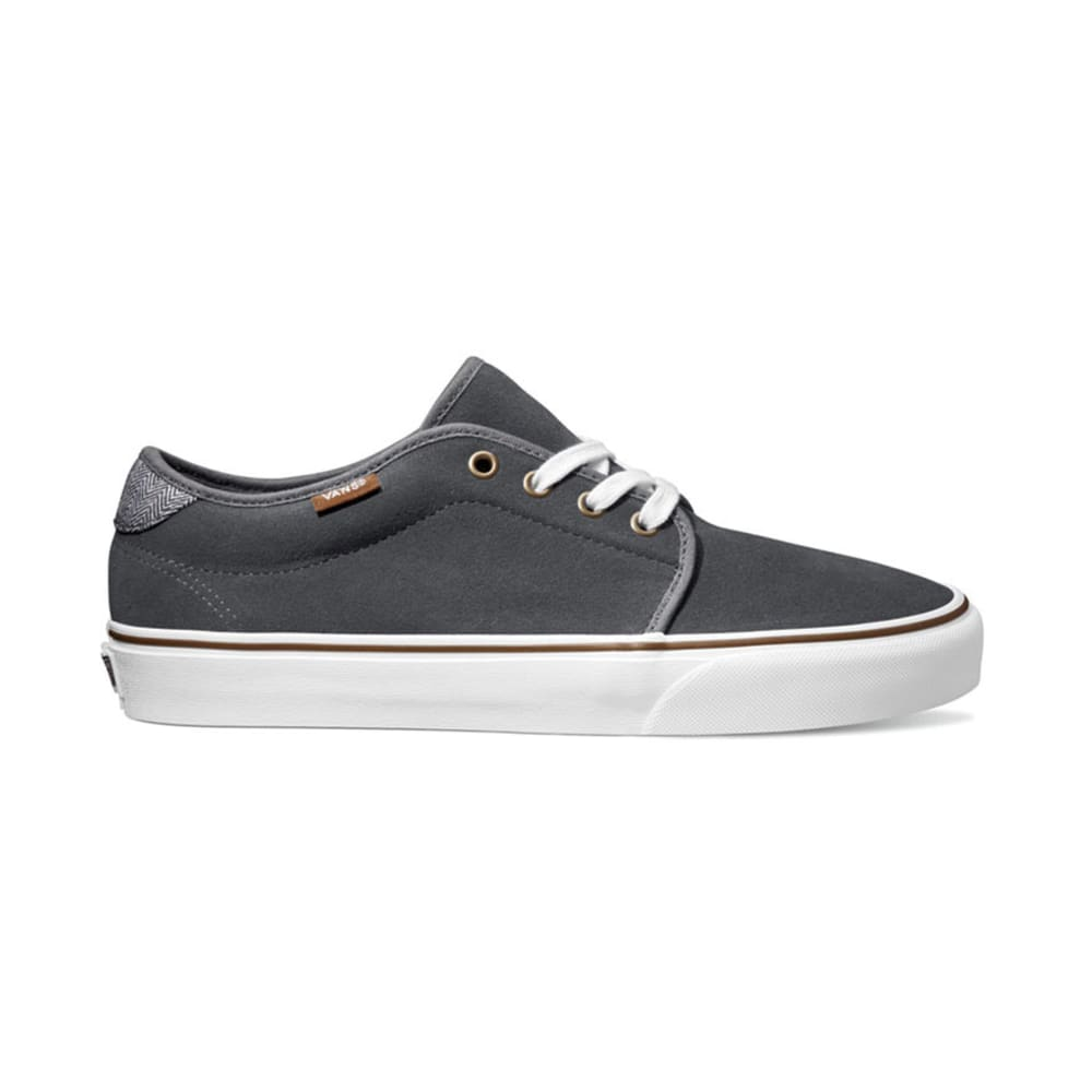 VANS Men's Suede Herringbone 159 Vulcanized Shoes - CASTLEROCK SUEDE