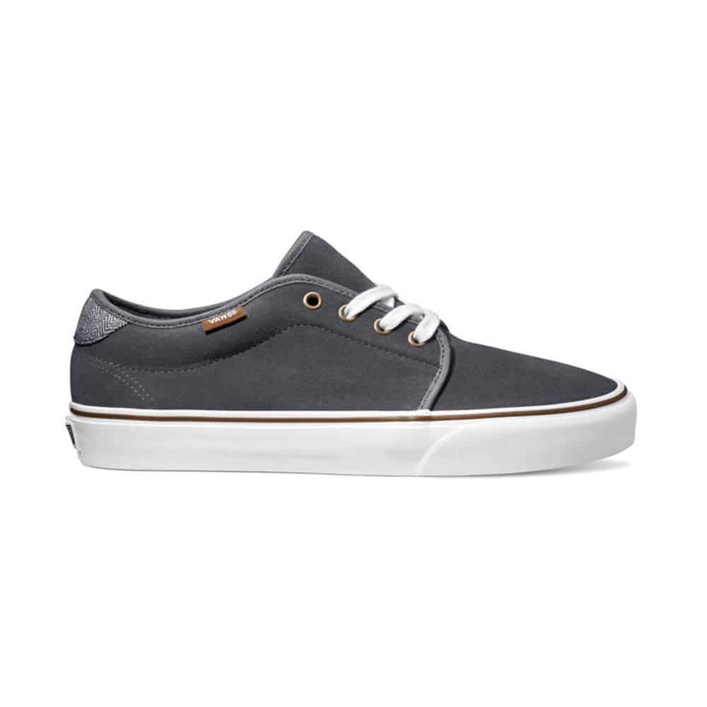 VANS Men's Suede Herringbone 159 Vulcanized Shoes - CASTLEROCK SUEDE