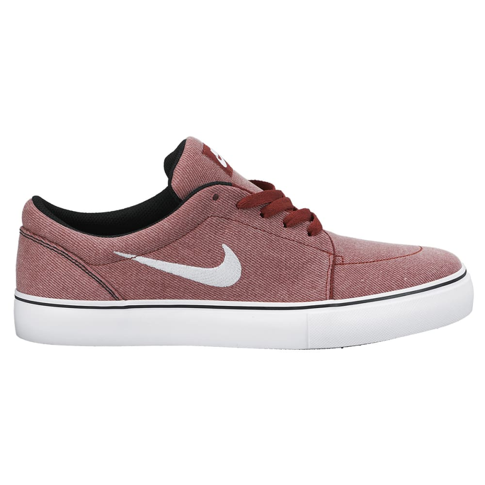 NIKE SB Men's Satire Lo Canvas Shoes - RED