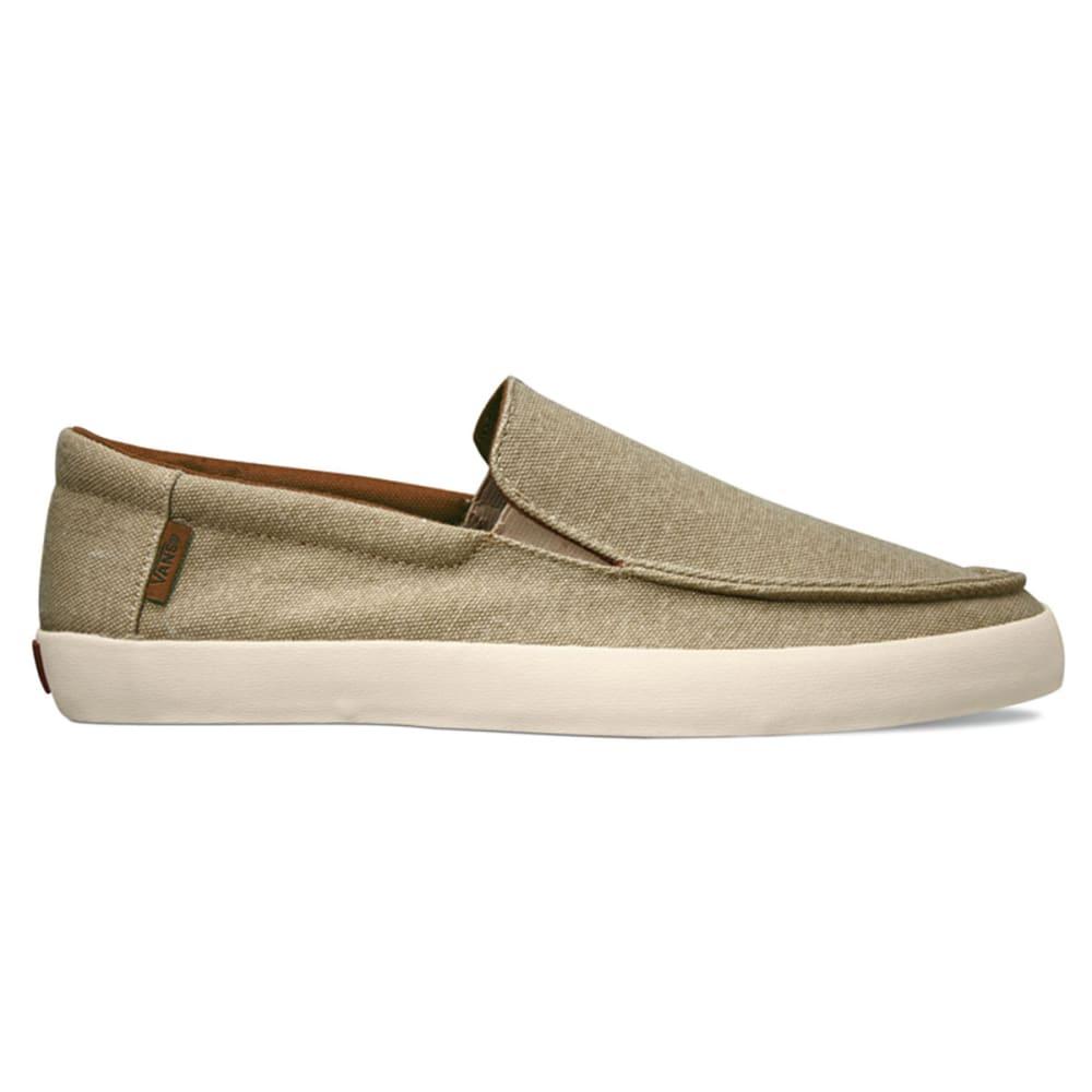 VANS Men's Bali Slip-On Loafers - KHAKI