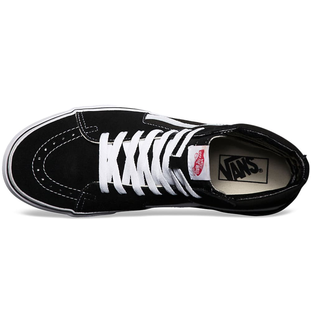Vans Men's SK8-HI Shoes - BLACK  VN000D5IB8C