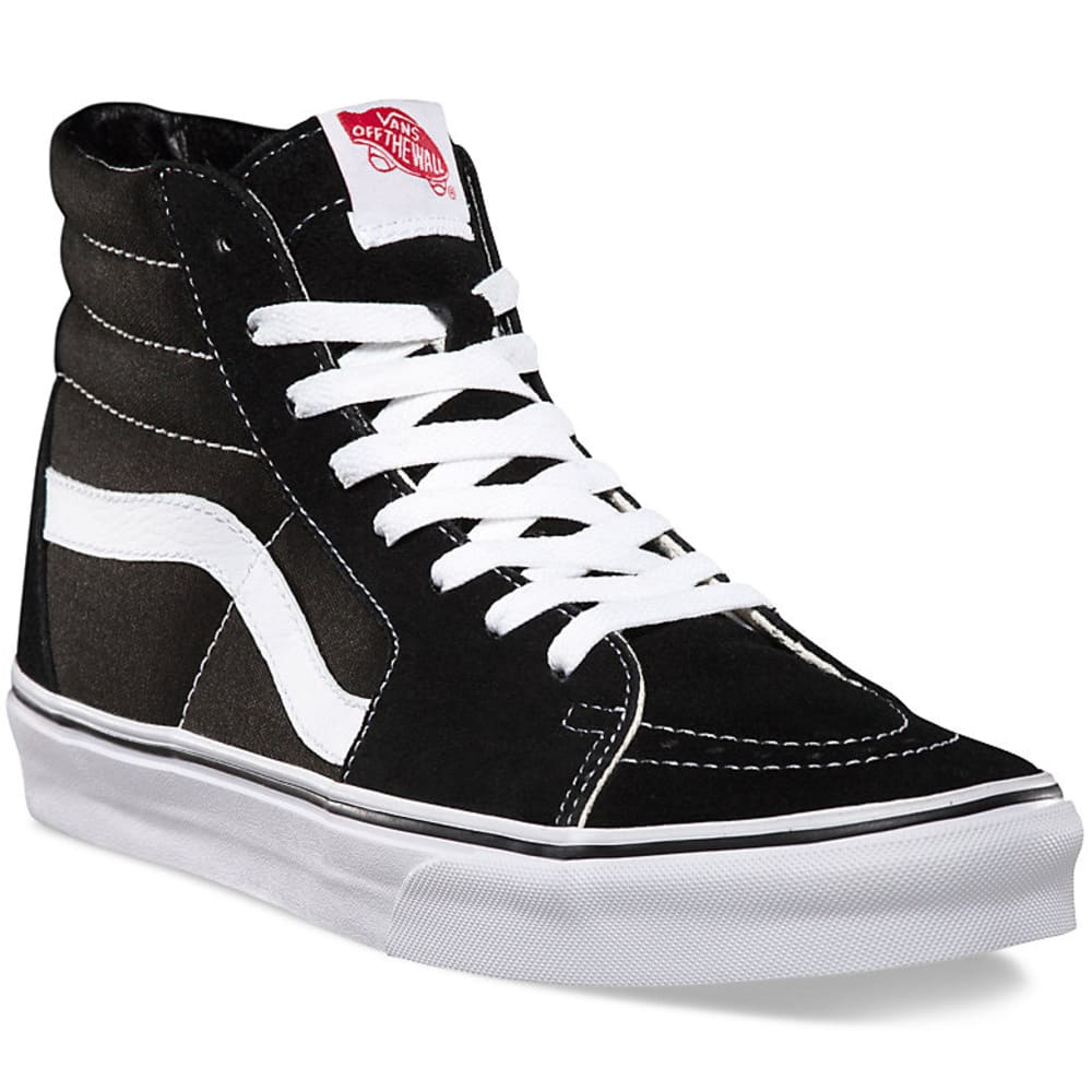 Vans Men's Sk8-Hi Shoes - Black, 7