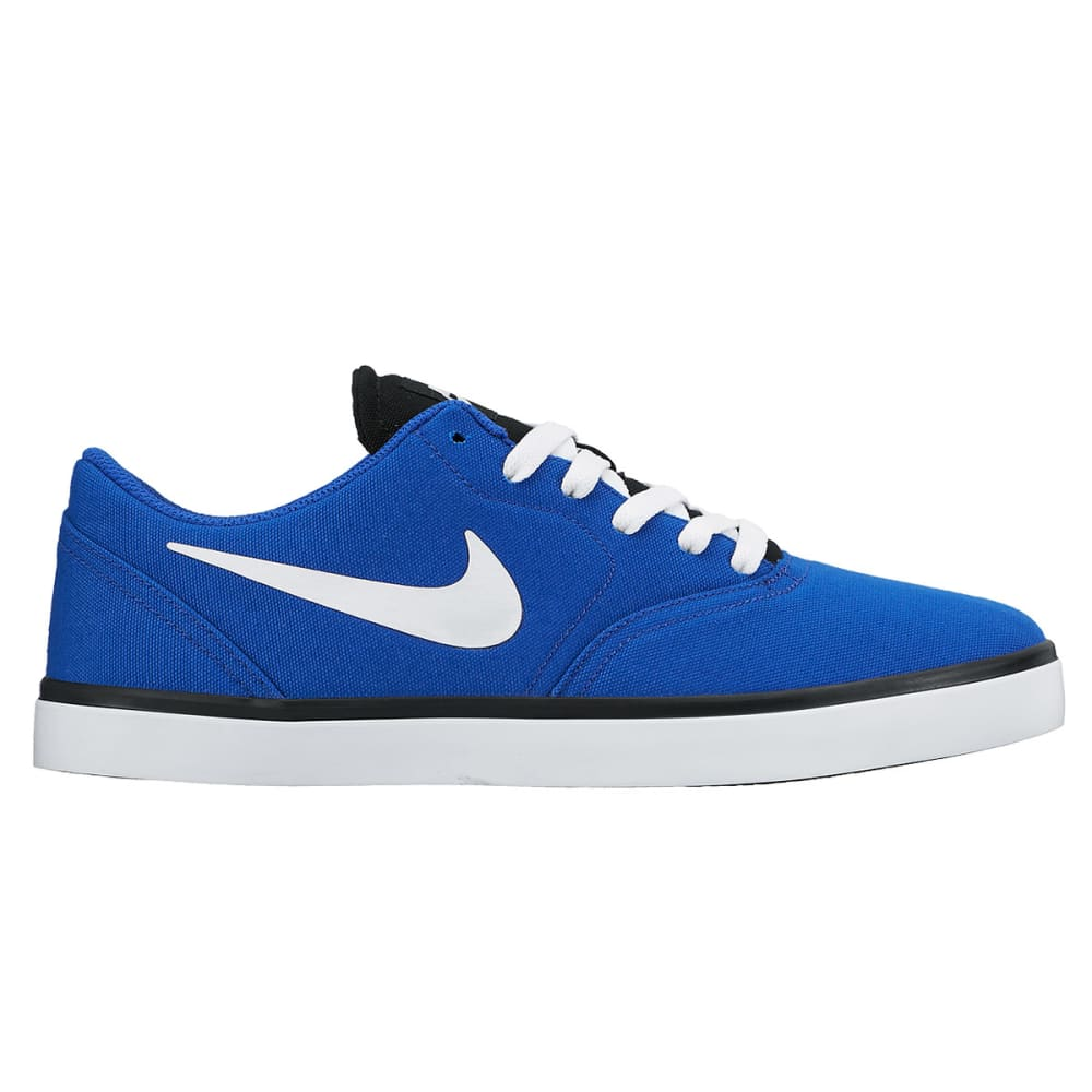 NIKE SB Men's Check Canvas Skateboarding Shoes - ROYAL BLUE