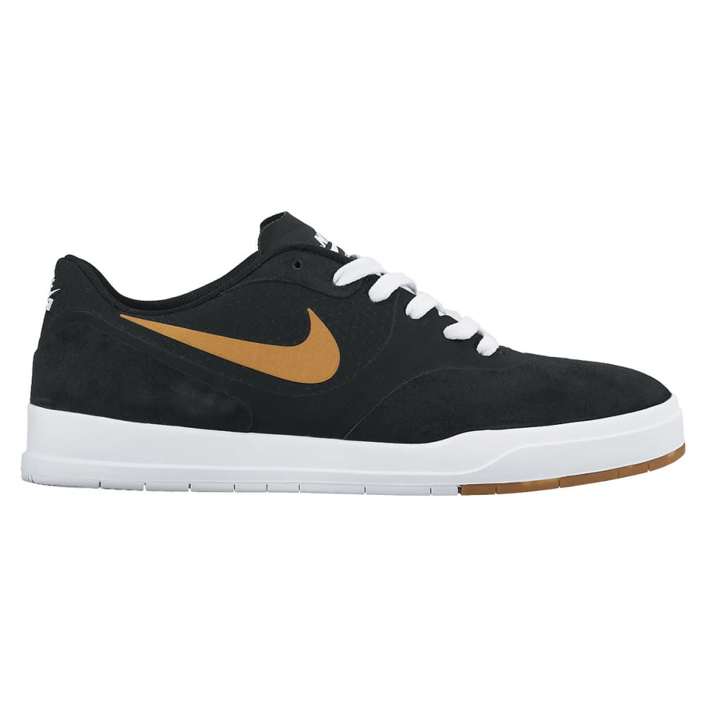 NIKE SB Men's Paul Rodriguez 9 Skate Shoes - BLACK/GOLD