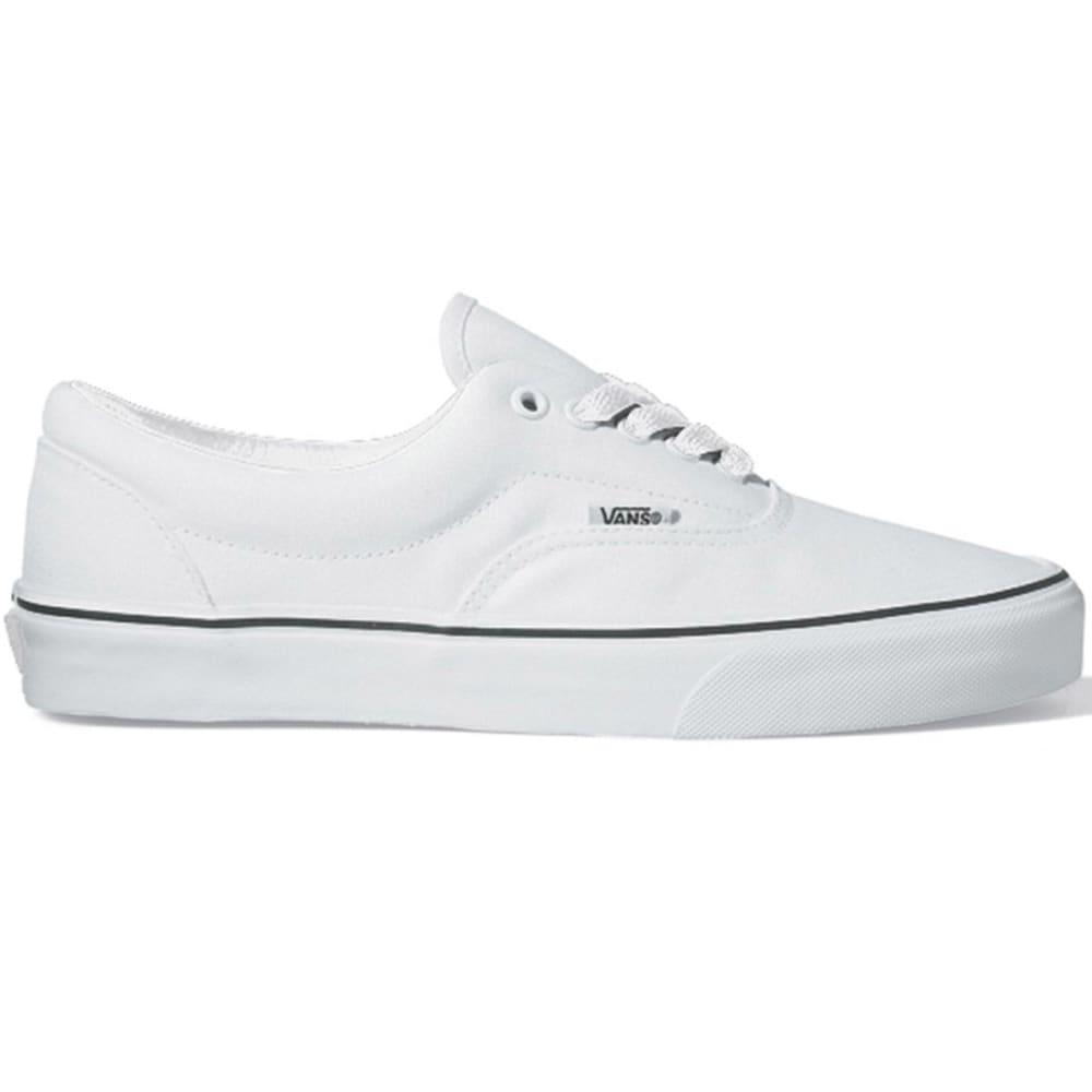 VANS Young Men's Era Shoes - WHITE