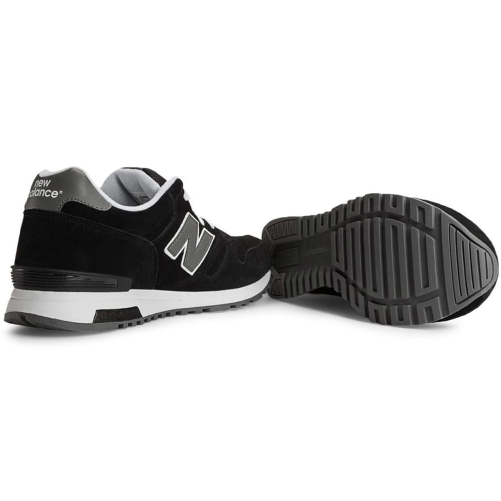 NEW BALANCE Men's 565 Suede Shoes - BLACK