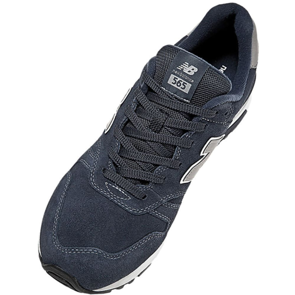 NEW BALANCE Men's Suede 565 Shoes - NAVY