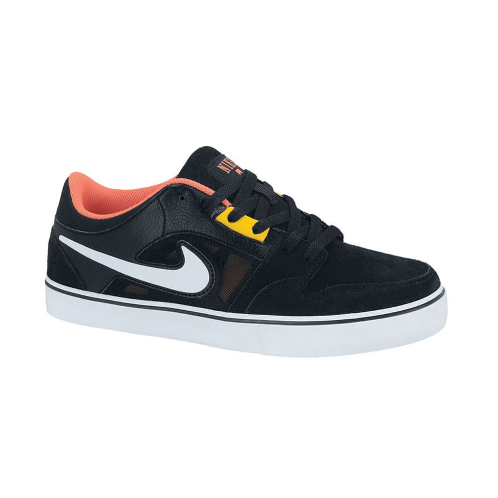 NIKE Young Men's Action Ruckus 2 LR Shoes - BLACK/GOLD/RED/WHITE