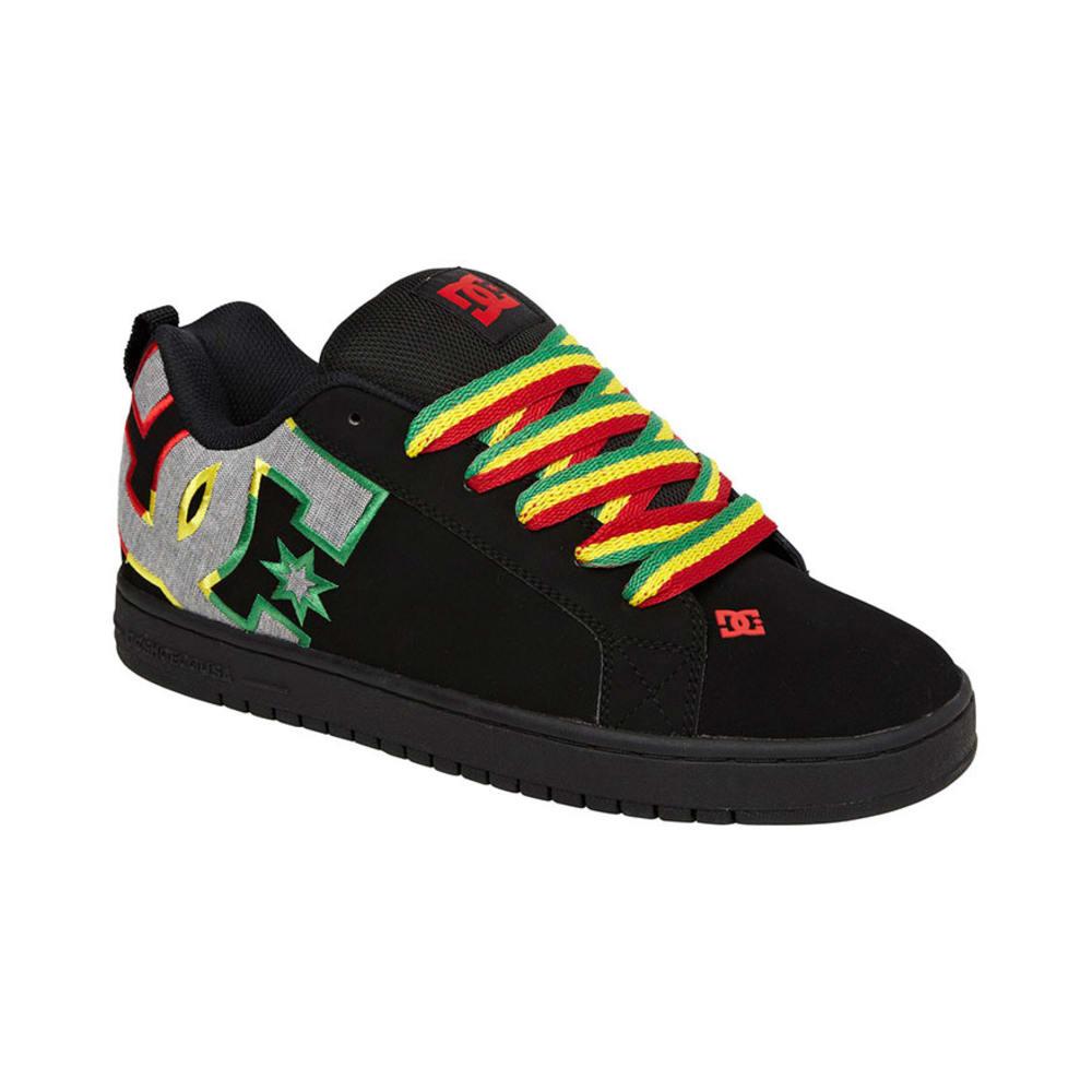 DC SHOES Young Men's Court Graffik SE Shoes - RASTA
