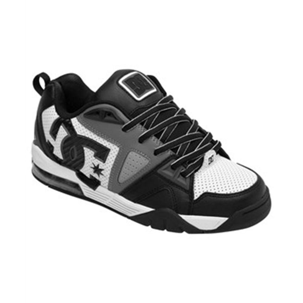 DC SHOES Young Men's Cortex Shoes - WHITE/BLACK
