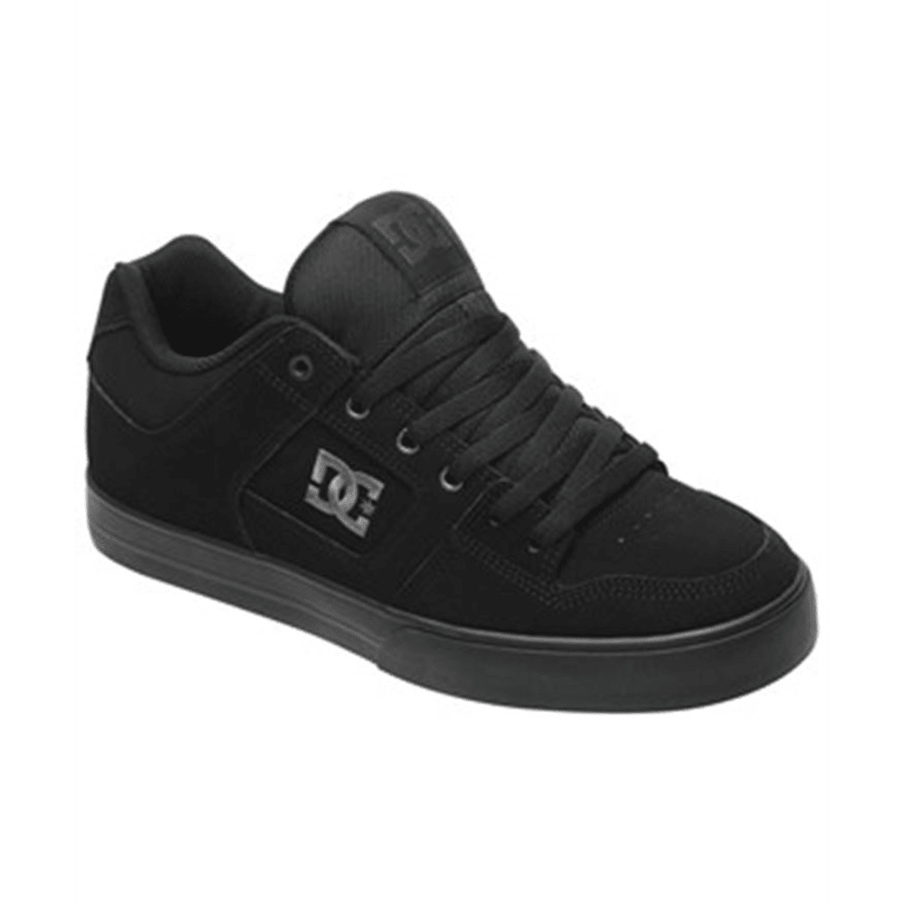 DC SHOES Young Men's Pure Shoes - BLACK/BLACK
