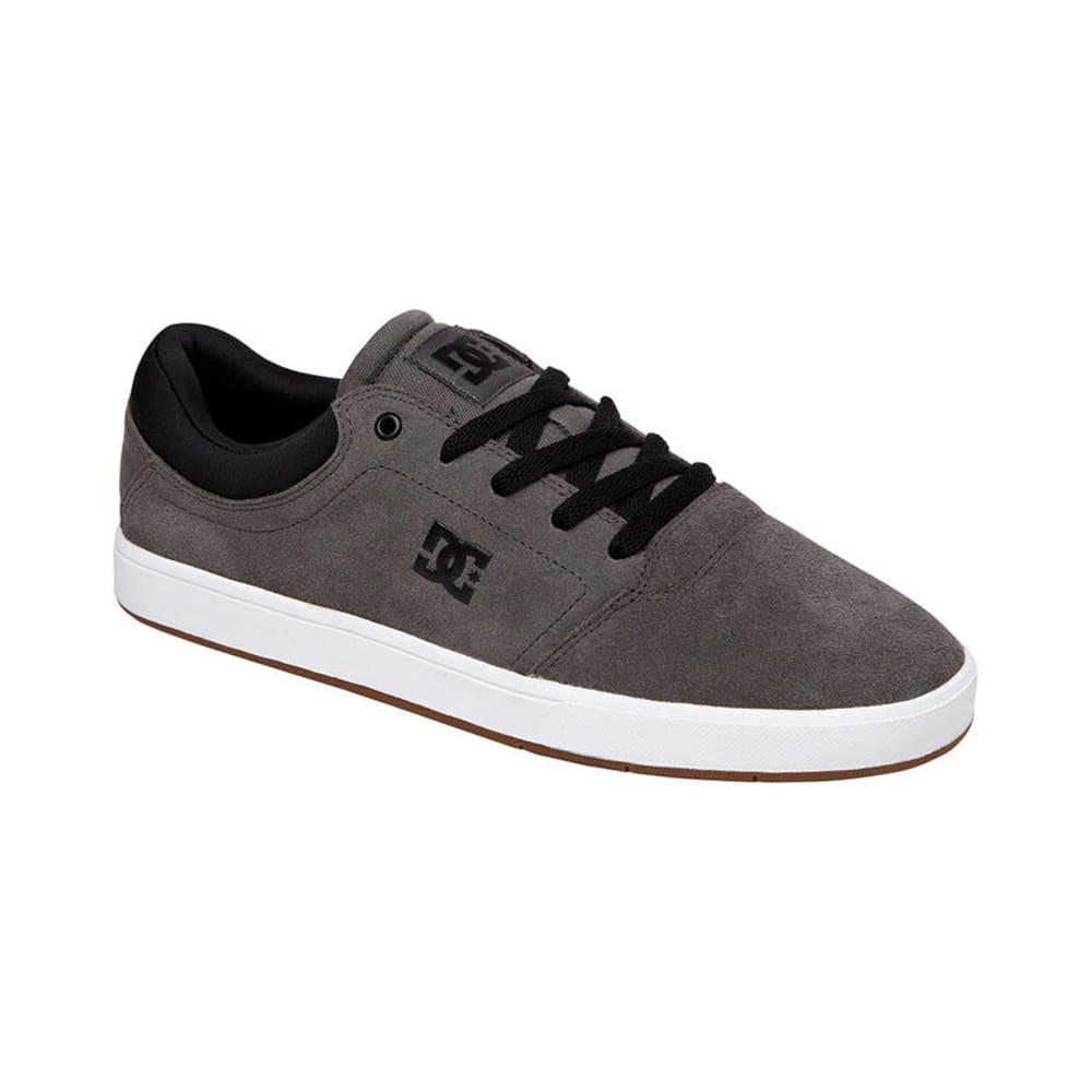 DC SHOES Young Men's Crisis Shoes - GREY/BLACK
