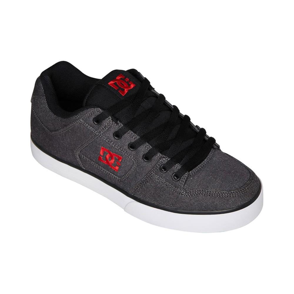 DC SHOES Young Men's Pure TX SE Shoes - BLACK