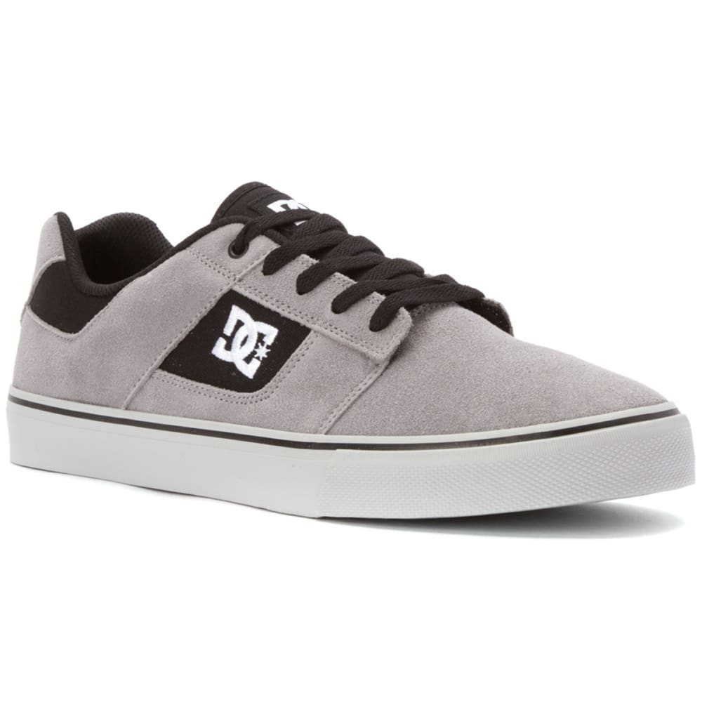 DC SHOES Men's Bridge Skate Shoes - GREY