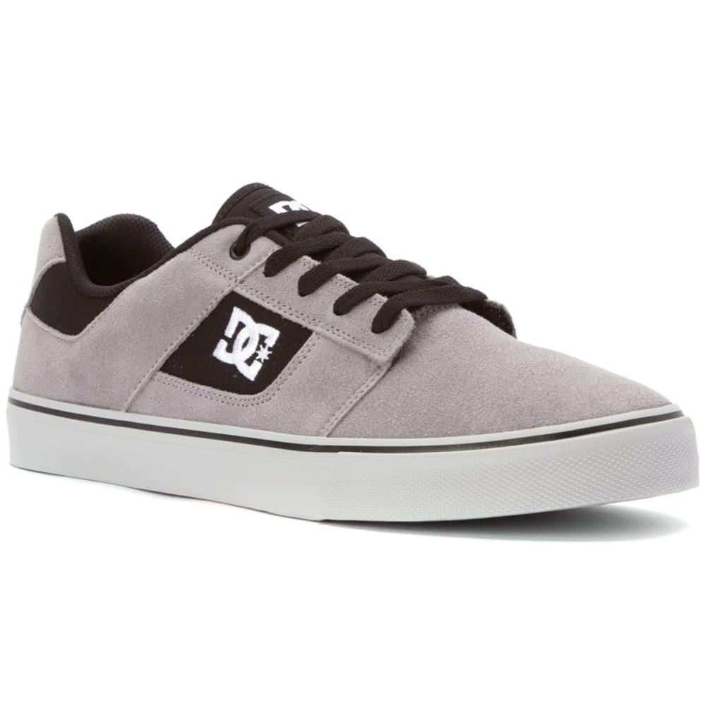 DC SHOES Men's Bridge Skate Shoes - GREY