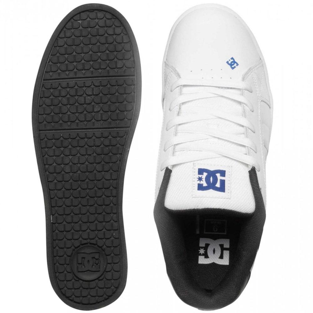 DC SHOES Men's Net Shoes - WHITE/BLACK/BLUE