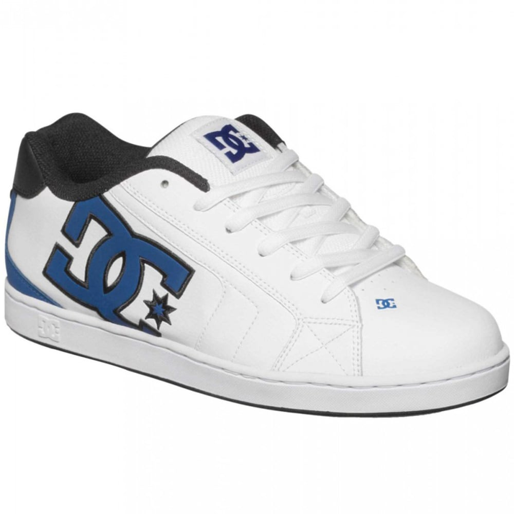 DC SHOES Men's Net Shoes - WHITE/BLACK/BLUE