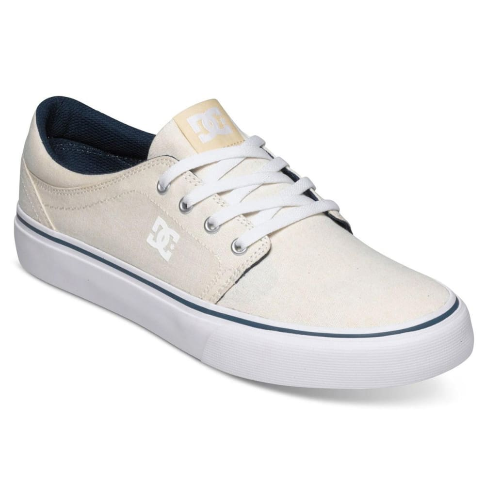 DC SHOES Men's Trase TX Skate Shoes - CREAM