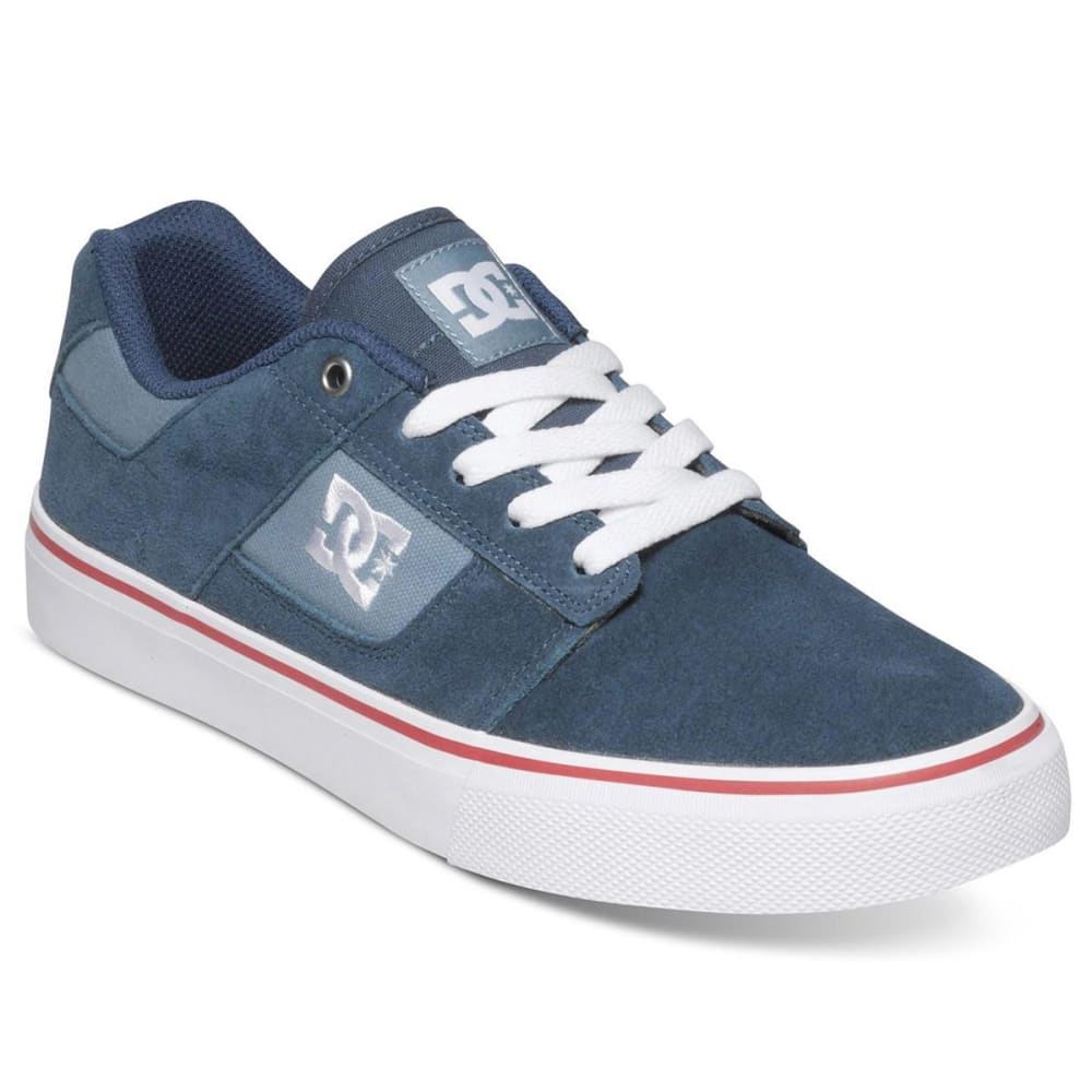 DC SHOES Men's Bridge Skate Shoes - BLUE