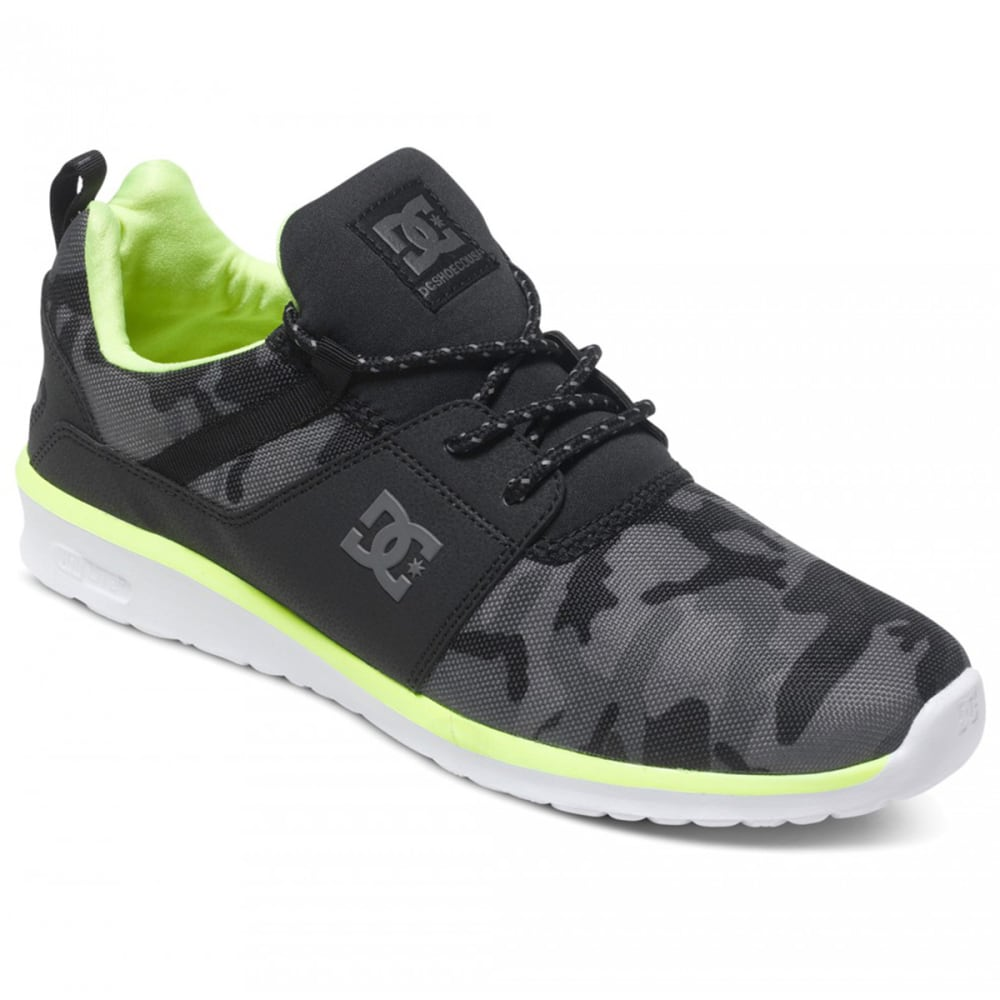 DC SHOES Men's Heathrow SE Shoes - Black, 7.5