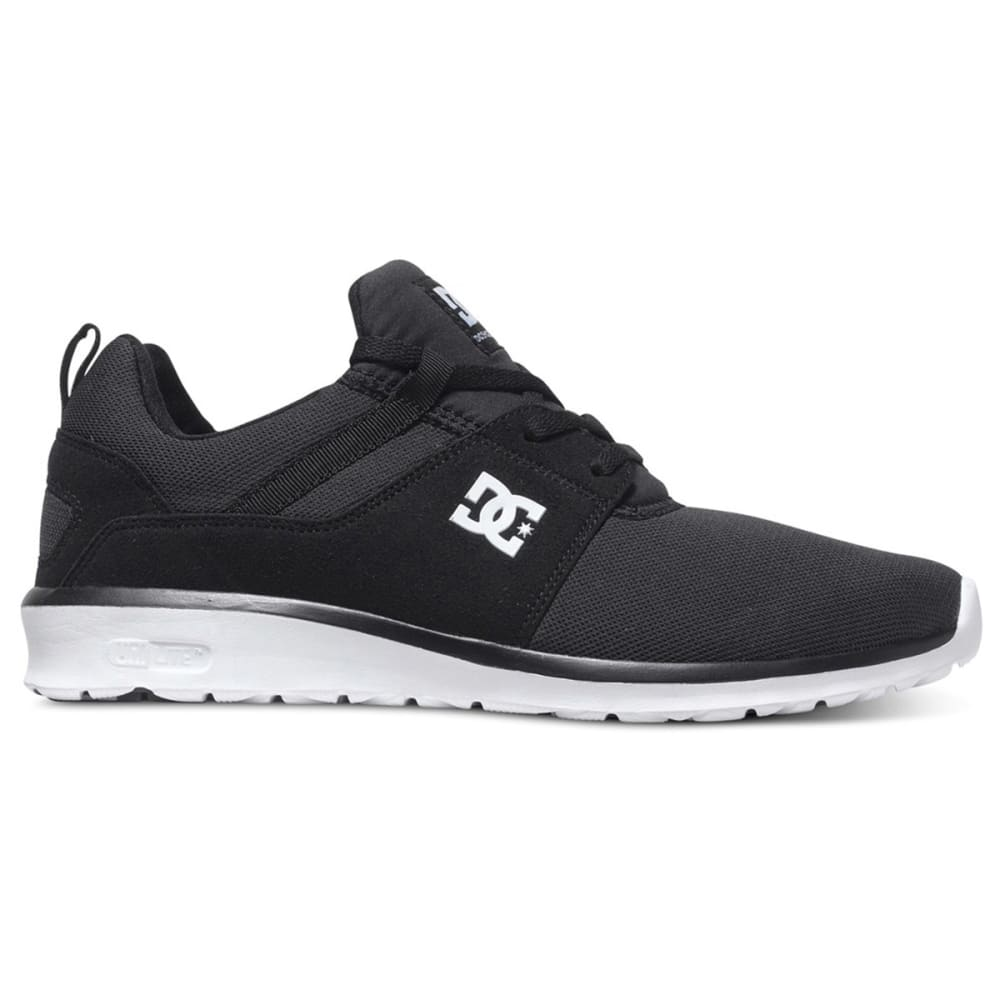DC SHOES Men's Heathrow Shoes - BLACK/WHITE