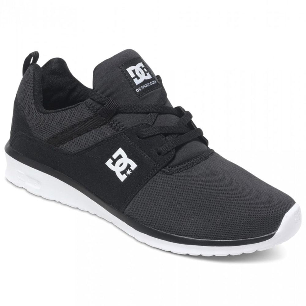 DC SHOES Men's Heathrow Shoes - BLACK/WHITE