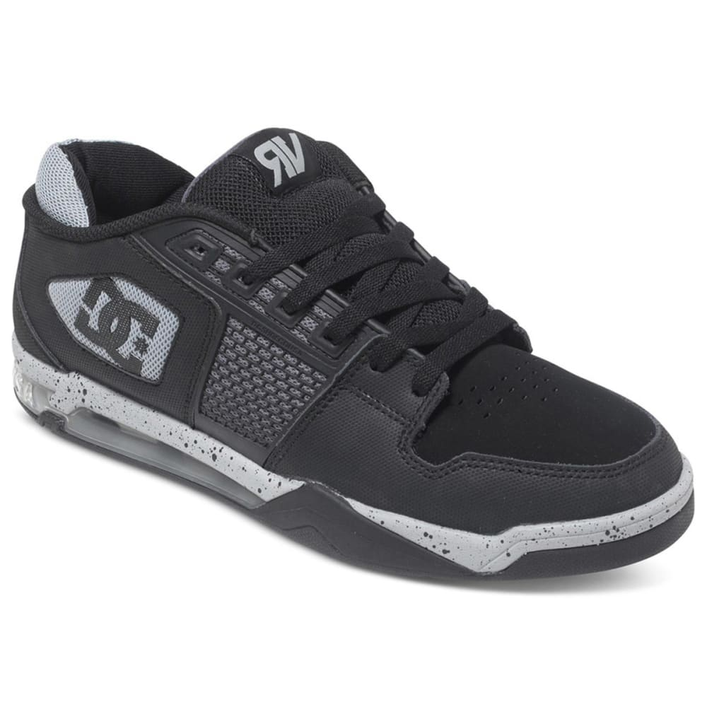 DC SHOES Men's Ryan Villopoto Shoes - BLACK/GREY