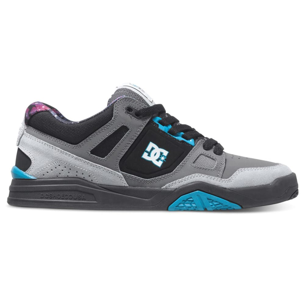 DC® Men's Stag 2 KB Skateboard Sneakers - CYAN/BLACK
