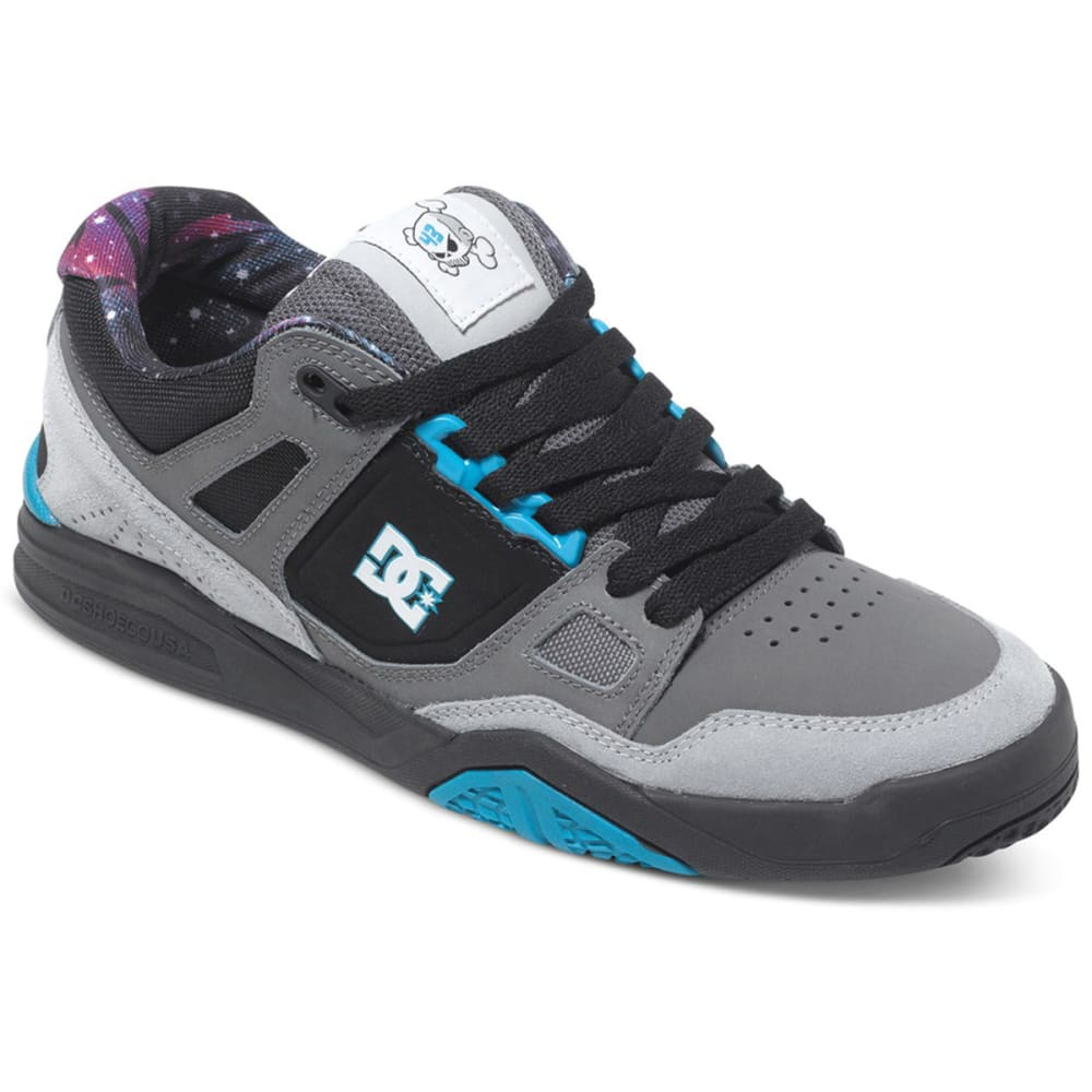 DC® Men's Stag 2 KB Skateboard Sneakers - CYAN/BLACK