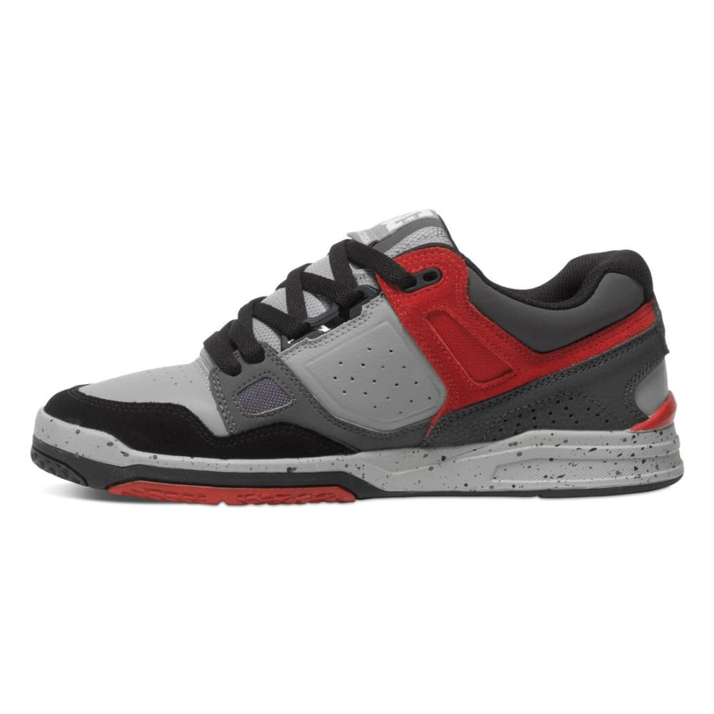 DC SHOES Men's Stag 2 Shoes - WHITE/STEEL PRINT