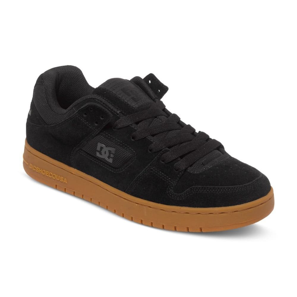 DC SHOES Men's Manteca Shoes - Black, 8