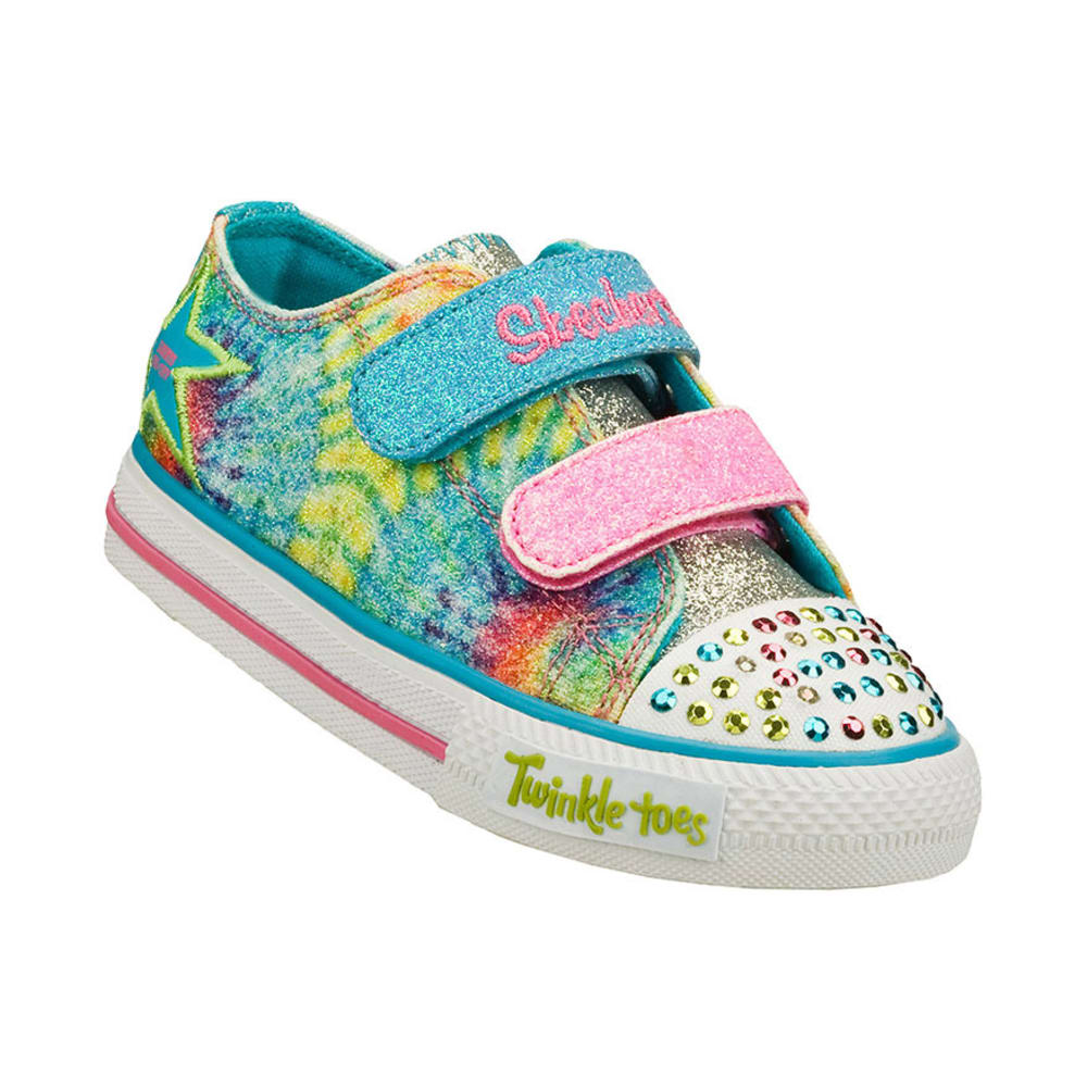 SKECHERS Girls' Twinkle Toes: Shuffles - Peace N' Love, 5-10 - ASSORTED