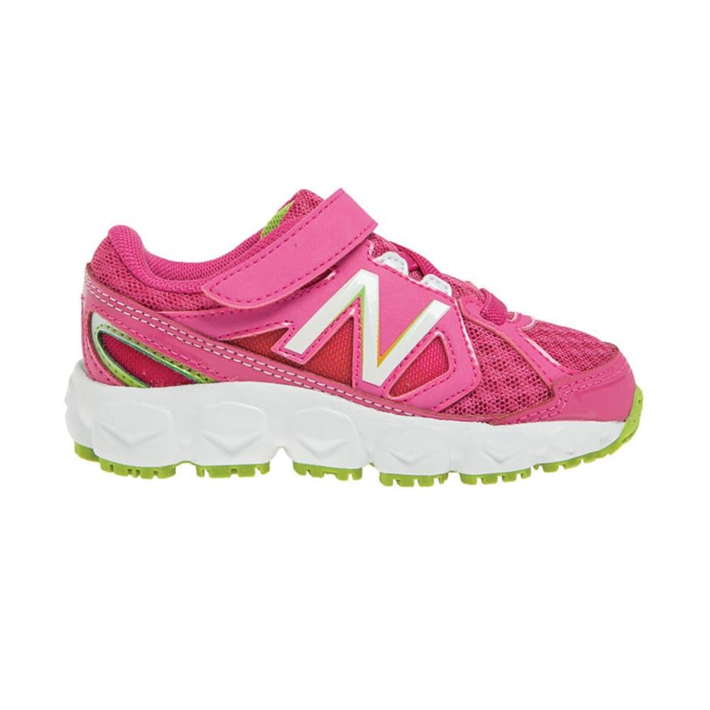 NEW BALANCE Girls' KV750 Sneakers, 4-10 - MAGENTA
