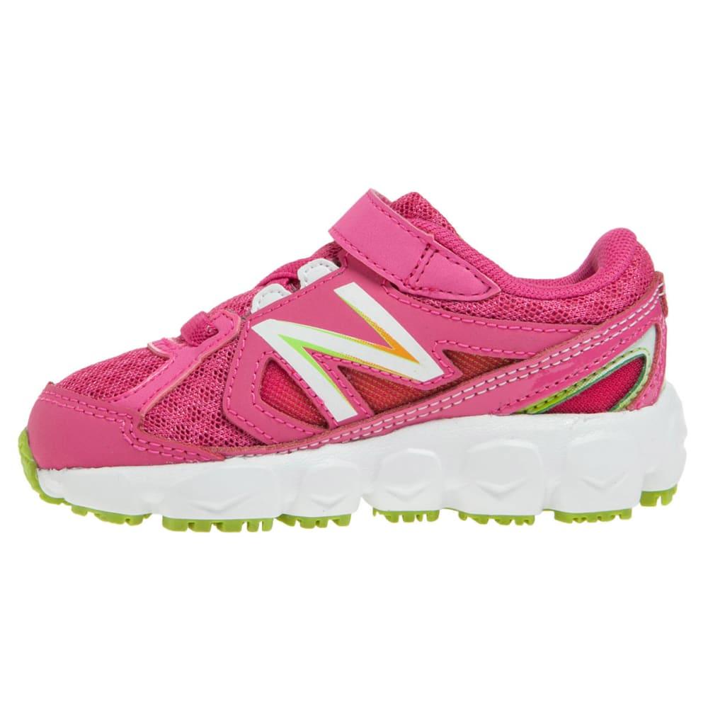 NEW BALANCE Girls' KV750 Sneakers, Wide, 4-10 - MAGENTA