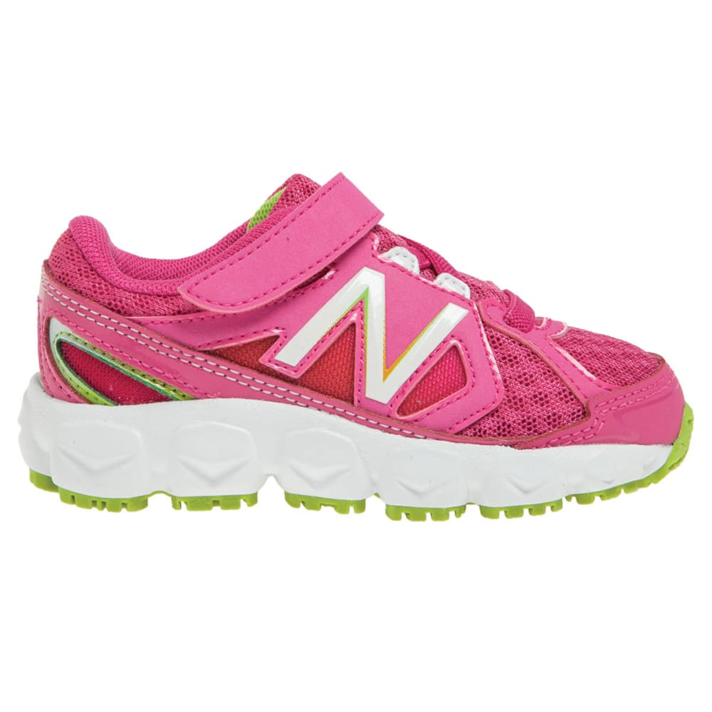 NEW BALANCE Girls' KV750 Sneakers, Wide, 4-10 - MAGENTA