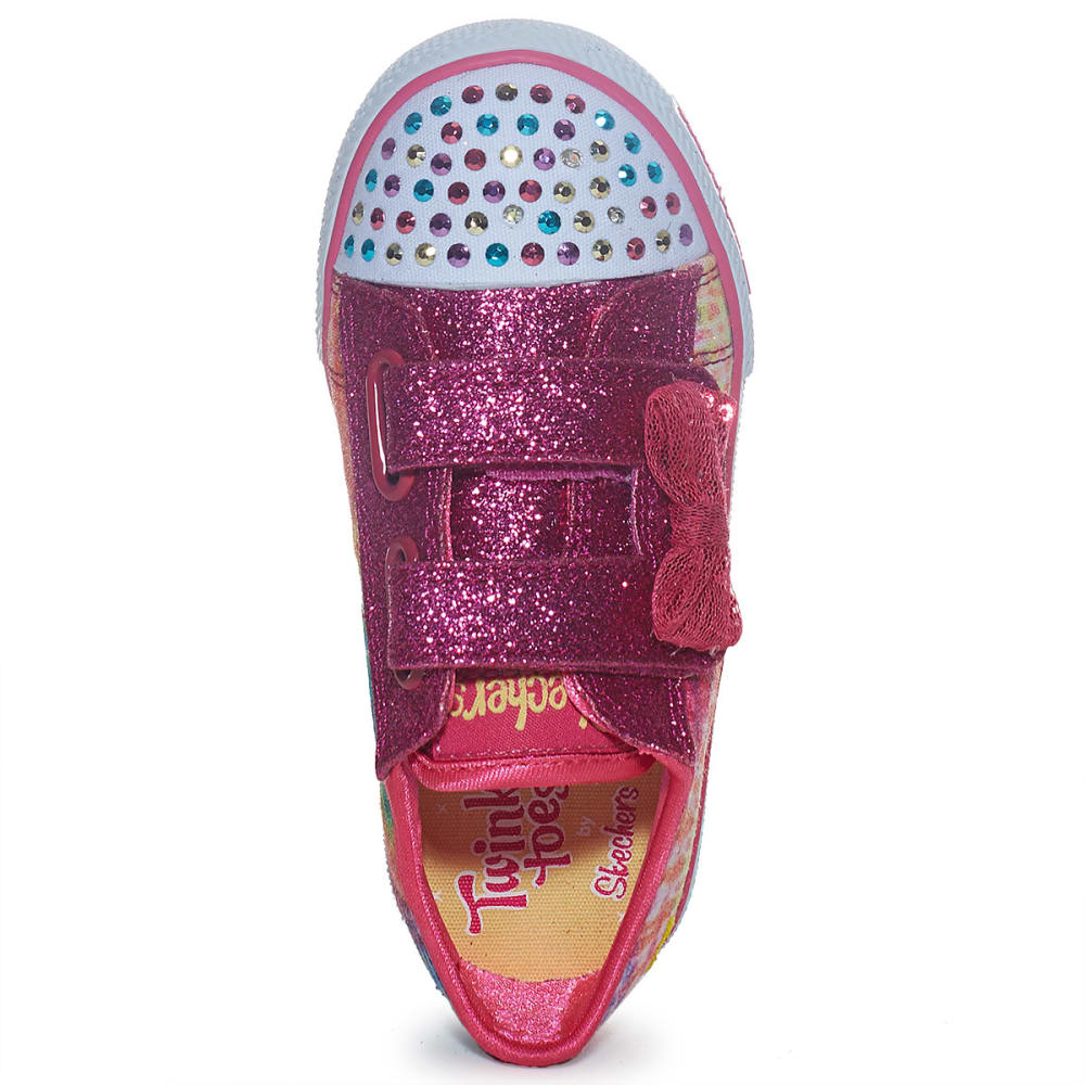 SKECHERS Girls' Twinkle Toes: Shuffles—Girl Groove - MULTI
