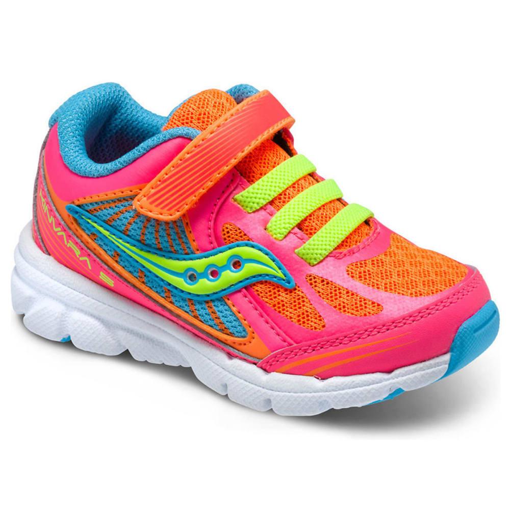 SAUCONY Infant Girls' Kinvara 5 Sneakers - CORAL/ORANGE