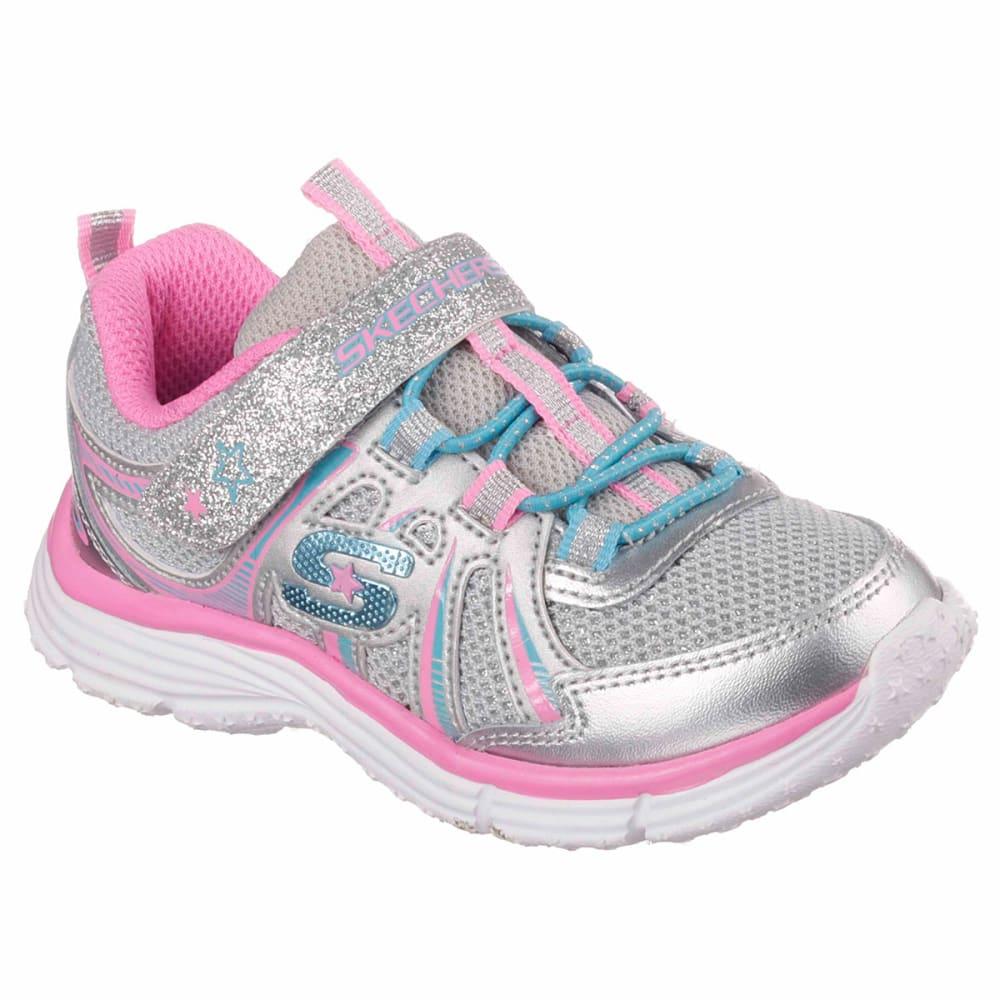 SKECHERS Toddlers Girls' Ecstatix-Wunderspark Sneakers - SILVER/MULTI